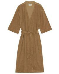 Moshi Moshi Mind Celestial Robe Terry - Bruin