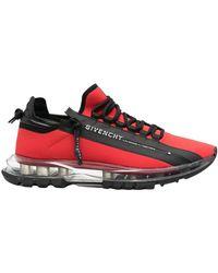 Givenchy Zapatillas Spectre Runner ZIP Rojo