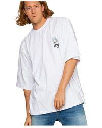 Gcds Over Logo Simpson Petto T-shirt - Wit