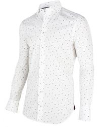 Cavallaro - Overhemd Shirt Print - Lyst