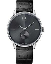 Calvin Klein Kijk Ur - Zwart