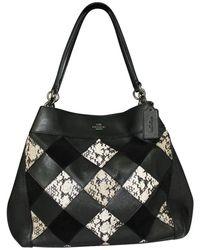 Heron Preston Snake Skin Pattern Bag - Zwart