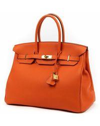 Hermès Birkin Naranja