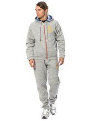 Billionaire Cotton Hooded Sweatsuit - Gris