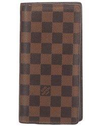 Louis Vuitton Tweedehands Brazza - Bruin