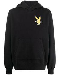 Amiri Playboy Cover Bunny Hoodie - Zwart