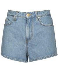 Chiara Ferragni Flirting Denim Shorts - Blu