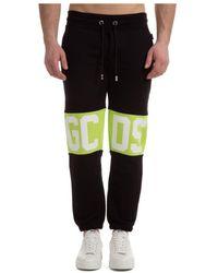 Gcds Sport trousers Band Logo - Noir
