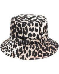 Ganni Hat - Bruin