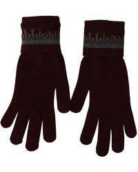 John Galliano Wrist Length Golves - Rood
