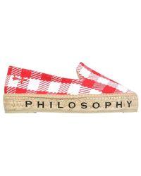 Philosophy Di Lorenzo Serafini Espadrilles - Rood
