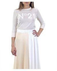 N°21 Jersey Lana - Wit