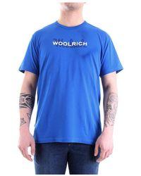 Woolrich - Wote0048 Short Sleeve Tee - Lyst