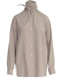 Lemaire Shirt - Naturel