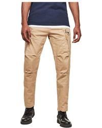 G-Star RAW D14515 C096 Tapered Cargo Pants - Naturel
