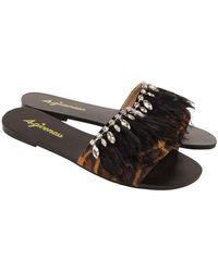 4giveness Sandals Fgaw0923-200--36 - Schwarz
