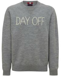 Mc2 Saint Barth Sweatshirt day off - Gris