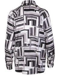 Kiton Shirt Gris