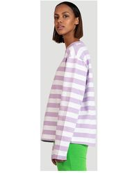 Holzweiler Long sleeve T-shirt Morado - Multicolor