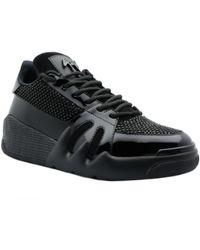Giuseppe Zanotti - Talon sneakers Negro - Lyst
