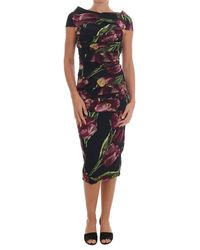 Dolce & Gabbana Tulip Sheath Dress - Meerkleurig