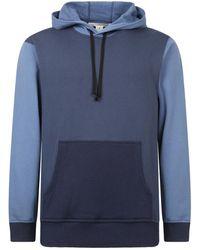 Comme des Garçons Relaxed Fit Sweatshirt - Blauw