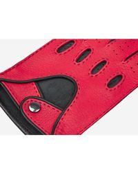 Santa Eulalia Gloves with trim Rojo