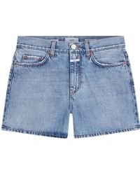 Closed Shorts c92133 - Bleu