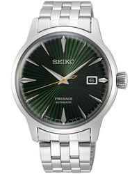Seiko Presage Watch - Vert