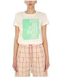 Baum und Pferdgarten Crew Neck T-Shirt - Bianco