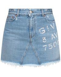 Givenchy Spijkerrok - Blauw