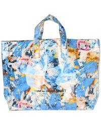 Comme des Garçons Men's Bags Handbag W28610Pc - Blu