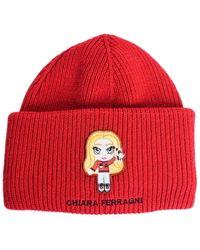 Chiara Ferragni Beanie - Rouge