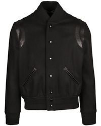 Saint Laurent Teddy Bandes - Zwart