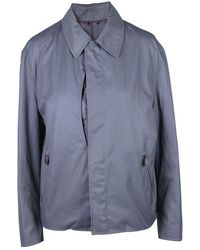 Hermès Zip Up Water Resistant Jacket - Gris