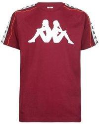 Kappa Camiseta T-shirt Dobrev - Rood