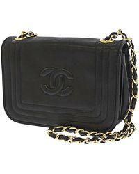 Chanel Vintage Cardigan Dp - Zwart