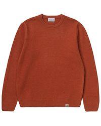 Carhartt WIP Allen Sweater - Marrone