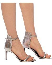AllSaints Avia heeled sandals - Grigio