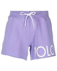 Polo Ralph Lauren Shorts - Paars