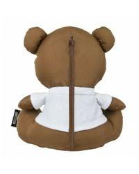 Moschino Teddy Bear & Ombrello Super Mini Retraibile O20Mo18 Negro