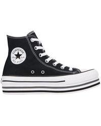 Converse Sneakers Chuck Taylor All Star Platform - Zwart