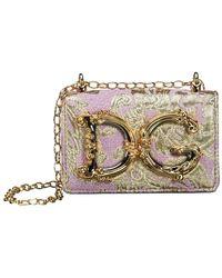 Dolce & Gabbana Nano Crossbody Bag - Roze