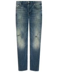 Barbour Rex distressed jeans - Blu
