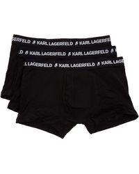 Karl Lagerfeld Boxer shorts - Noir
