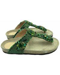 Maliparmi Flip Flops - Groen