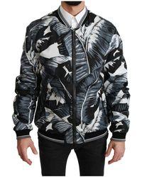 Dolce & Gabbana Bomber Jacket - Zwart