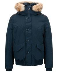 Woolrich Down Jacket - Blauw