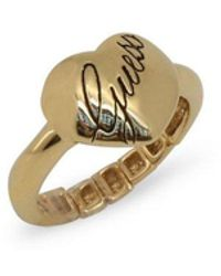 Guess Ring Ubr101 - Geel