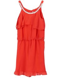 Guess Jumpsuit Deep - Rood